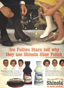 Ice Follies ad from the 1960s