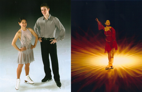 Photos of Yuka Sato and Jeremy Abbott