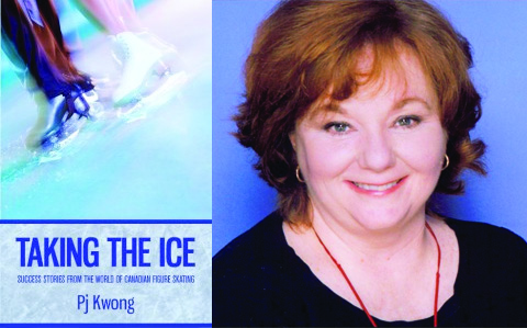Photo of book cover for Taking the Ice by PJ Kwong