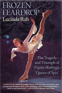 Book cover for Frozen Teardrop by Lucinda Ruh