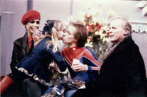 Ricky Harris with Scott Hamilton and Don Laws
